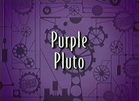 Screenshots from the 1999 Disney Television Animation cartoon Purple Pluto