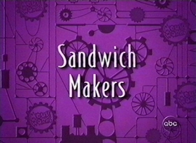 Screenshots from the 1999 Disney Television Animation cartoon Sandwich Makers