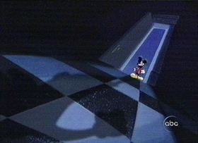 Screenshots from the 1999 Disney Television Animation cartoon Mickey to the Rescue : Staircase