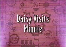Screenshots from the 1999 Disney Television Animation cartoon Daisy Visits Minnie