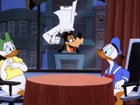 Screenshots from the 1999 Disney Television Animation cartoon Donald