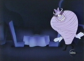 Screenshots from the 1999 Disney Television Animation cartoon Mickey Foils the Phantom Blot