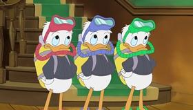 Screenshots from the 1999 Disney Television Animation cartoon Stuck on Christmas