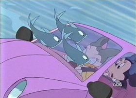 Screenshots from the 1999 Disney Television Animation cartoon Daisy