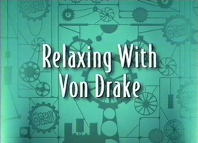 Screenshots from the 1999 Disney Television Animation cartoon Relaxing with Von Drake