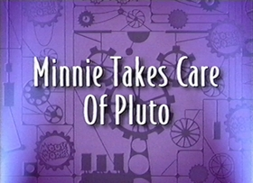 Screenshots from the 2000 Disney Television Animation cartoon Minnie Takes Care of Pluto