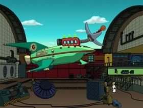 Screenshots from the 2001 Curiosity Company cartoon Time Keeps On Slippin
