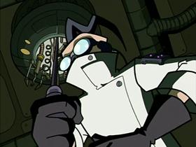 Screenshots from the 2001 Nickelodeon cartoon NanoZIM