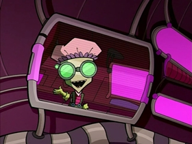 Screenshots from the 2001 Nickelodeon cartoon Germs