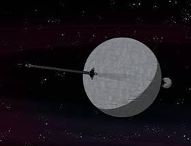 Screenshots from the 2001 Nickelodeon cartoon Planet Jackers