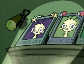 Screenshots from the 2001 Nickelodeon cartoon Plague of Babies