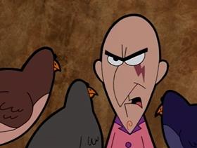 Screenshots from the 2001 Cartoon Network Studios cartoon Emotional Skarr