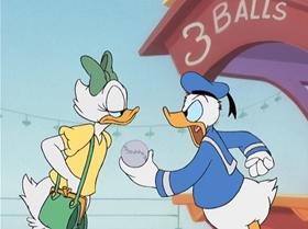 Screenshots from the 2001 Disney Television Animation cartoon Donald