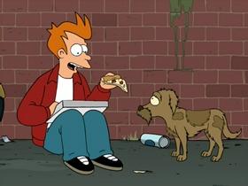 Screenshots from the 2002 Curiosity Company cartoon Jurassic Bark