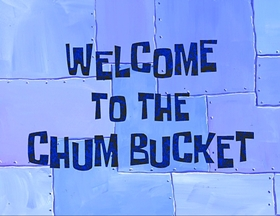 Screenshots from the 2002 United Plankton Pictures cartoon Welcome to the Chum Bucket