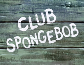 Screenshots from the 2002 United Plankton Pictures cartoon Club SpongeBob