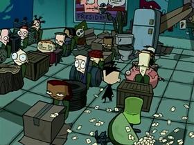 Screenshots from the 2002 Nickelodeon cartoon Door to Door