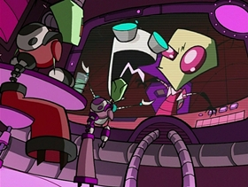 Screenshots from the 2002 Nickelodeon cartoon Hobo 13