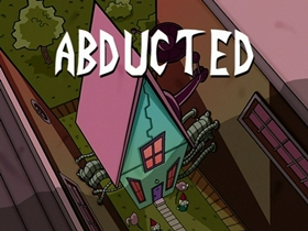 Screenshots from the 2002 Nickelodeon cartoon Abducted