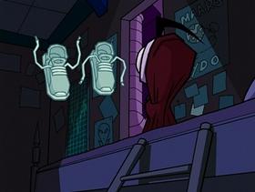 Screenshots from the 2002 Nickelodeon cartoon Dib