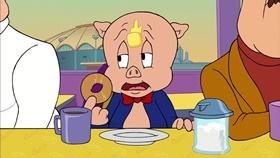Screenshots from the 2003 Warner Brothers cartoon My Generation G...G...Gap