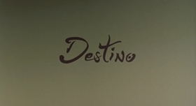 Screenshots from the 2003 Disney cartoon Destino