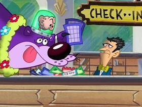 Screenshots from the 2004 Cartoon Network Studios cartoon Fool