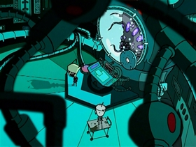 Screenshots from the 2006 Nickelodeon cartoon Backseat Drivers from Beyond the Stars