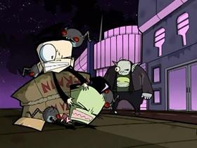 Screenshots from the 2006 Nickelodeon cartoon Mortos Der Soulstealer