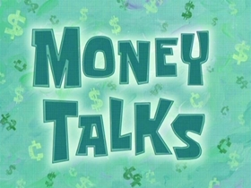 Screenshots from the 2007 United Plankton Pictures cartoon Money Talks
