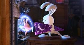Screenshots from the 2008 Pixar cartoon Presto
