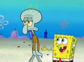 Screenshots from the 2009 United Plankton Pictures cartoon Squid