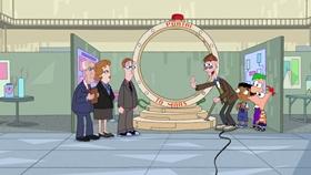 Screenshots from the 2009 Disney Television Animation cartoon Unfair Science Fair