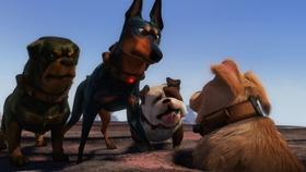 Screenshots from the 2009 Pixar cartoon Dug