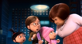 Screenshots from the 2010 Illumination Entertainment cartoon Despicable Me