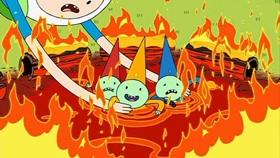 Screenshots from the 2010 Frederator Studios cartoon The Enchiridion!