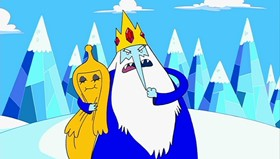 Screenshots from the 2010 Frederator Studios cartoon Ricardio the Heart Guy