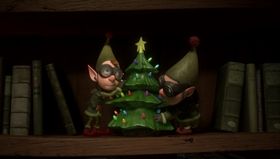 Screenshots from the 2010 Disney cartoon Prep & Landing: Operation: Secret Santa