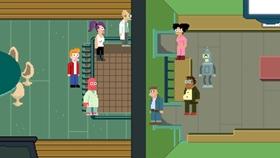 Screenshots from the 2011 Curiosity Company cartoon Reincarnation