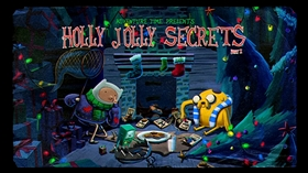 Screenshots from the 2011 Frederator Studios cartoon Holly Jolly Secrets (Part 1)