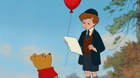 Screenshots from the 2011 Disney cartoon Winnie the Pooh