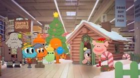 Screenshots from the 2012 Cartoon Network Development Studio Europe cartoon Christmas
