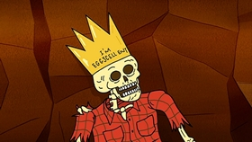 Screenshots from the 2012 Cartoon Network Studios cartoon Eggscellent