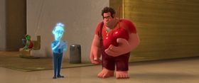 Screenshots from the 2012 Disney cartoon Wreck-It Ralph