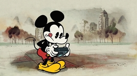 Screenshots from the 2013 Disney Television Animation cartoon Panda-monium