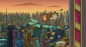 Screenshots from the 2013 Curiosity Company cartoon Meanwhile