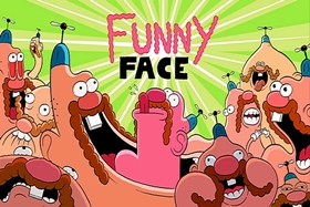 Screenshots from the 2013 Cartoon Network Studios cartoon Funny Face