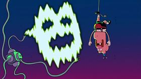 Screenshots from the 2013 Cartoon Network Studios cartoon Afraid of the Dark