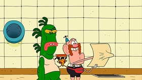 Screenshots from the 2013 Cartoon Network Studios cartoon Treasure Map