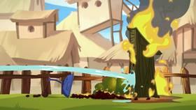 Screenshots from the 2013 Rovio Entertainment cartoon Hog Roast